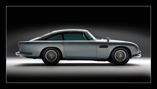 James Bond's Thunderball and Goldfinger Aston Martin DB5 Sells for $4.6 Million