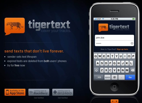 Tigertext allows doctors to text confidential patient info and stay HIPAA compliant, or how to stop worrying and love BYOD in your hospital